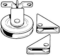 worth swivel pulley  line guides