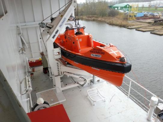 Palfinger Marine Aluminum Fast Rescue Boat Boater