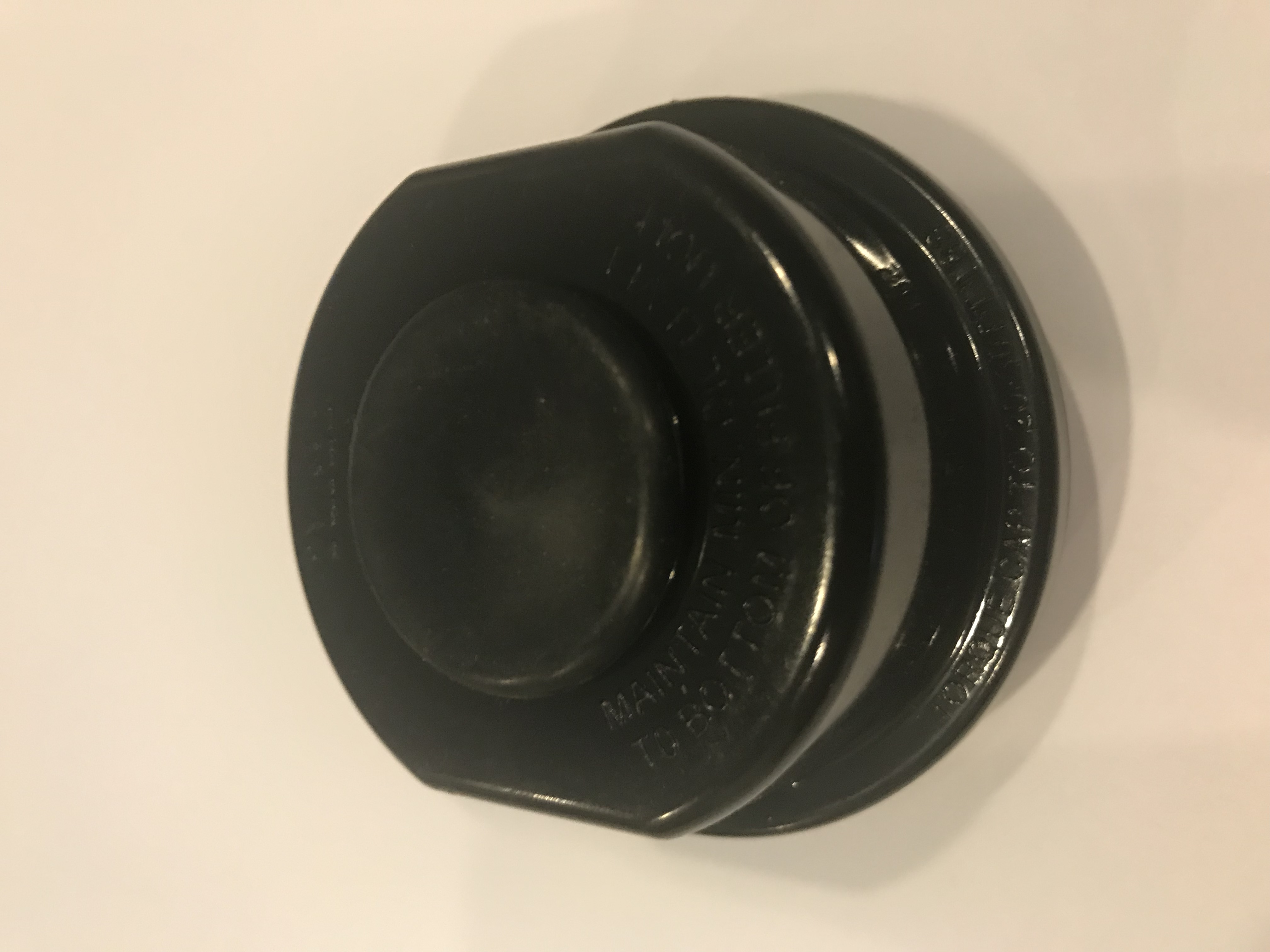 Tie Down Replacement Cap Only For Turbo Lube Hub Kit