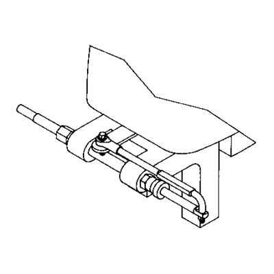 SeaStar Steering Connection Kit - Transom Support Mounting