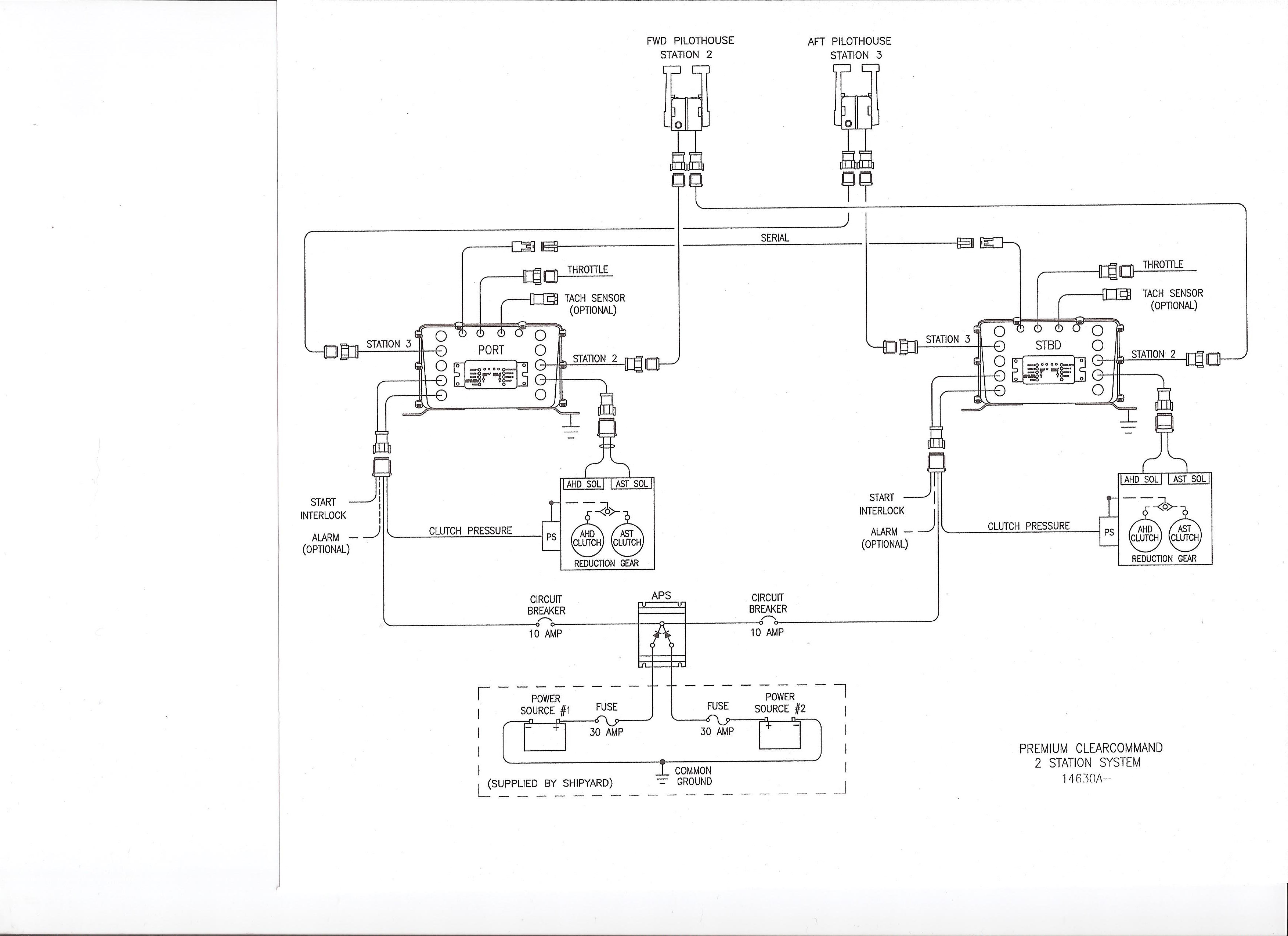 pontoon boat electrical wiring diagrams zf mathers 9000 series microcommander and clearcommand  zf mathers 9000 series microcommander and clearcommand